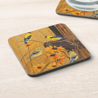 Goldfinches Coaster