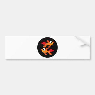 Goldfish4 Bumper Sticker