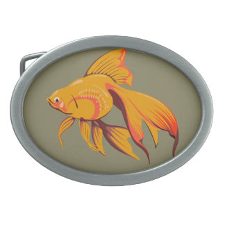 Goldfish Belt Buckle