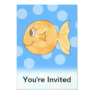 Goldfish. Card