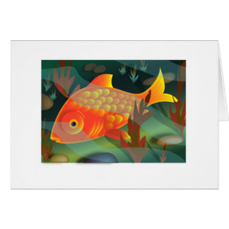Goldfish Card