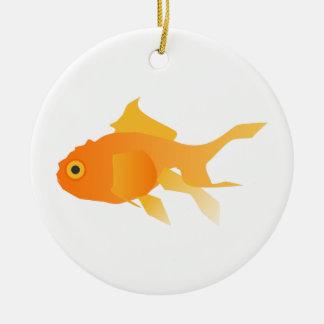 Goldfish Ceramic Ornament