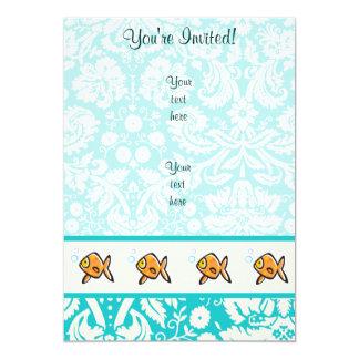 Goldfish; Cute Card