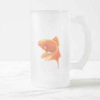 Goldfish Frosted Mug