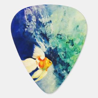 Goldfish Guitar Pick