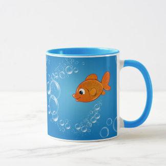 Goldfish In The Sea Mug