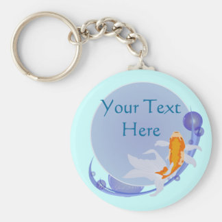 Goldfish Keychain