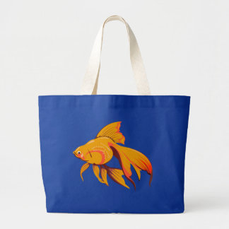 Goldfish Large Tote Bag