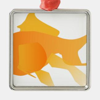 Goldfish Metal Ornament