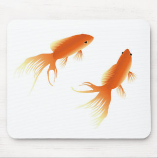 goldfish mousepad mouse pad