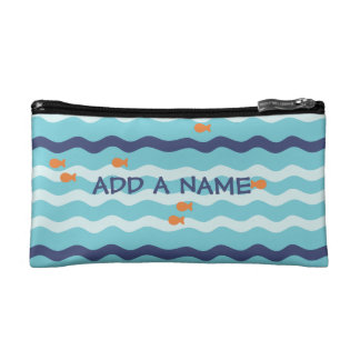 Goldfish Personalized Pencil Case Cosmetic Bags