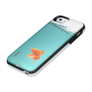 Goldfish Power Gallery iPhone SE/5/5S Case