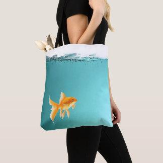 Goldfish Tote Bag All-Over Print