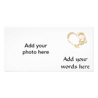 GoldHearts.png Photo Card Template