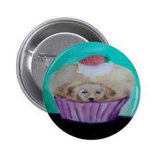 Goldie Golden Cupcake 2 Inch Round Button