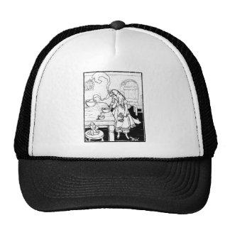 goldilocks sizing up some porridge shirt trucker hat