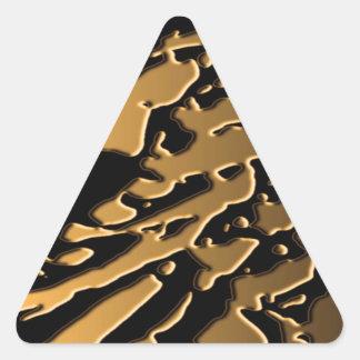 GOLDMIN2 PLASTER TRIANGLE STICKERS