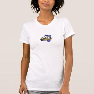 gold'n blues jazz logo shirt