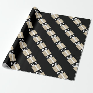 Goldn Gifts Giftwrap by NJCO Studio Wrapping Paper