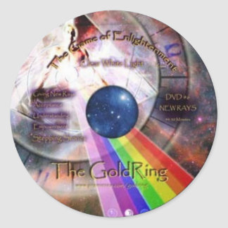 GoldRing Game of Enlightenment Classic Round Sticker