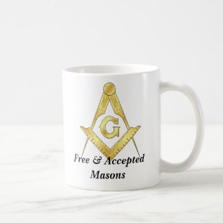 goldsquare, goldsquare, Free & Accepted Masons Coffee Mug