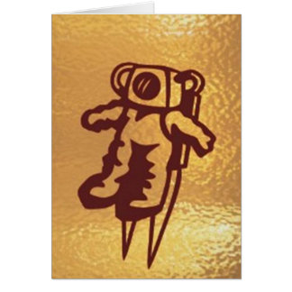 GoldStar, Star, Orbit, Robot : ASTRONAUT Gozzlo Card