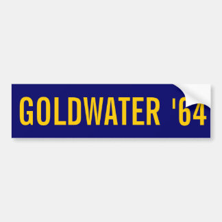 GOLDWATER '64 BUMPER STICKER