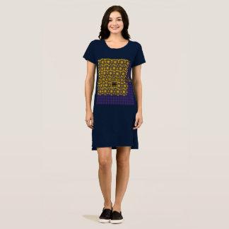 Goldweave Blue T-shirt Dress