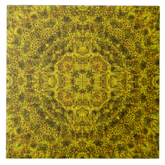 Goldweb Filigree Tile