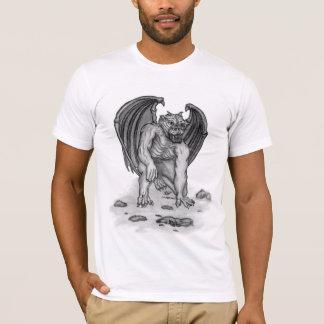 Golem Gargoyle black and white Design T-Shirt