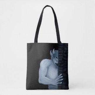 Golem Gargoyle Tote Bag