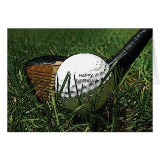 Golf 101 Greeting Card