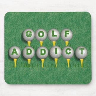 Golf Addict Mouse Pad