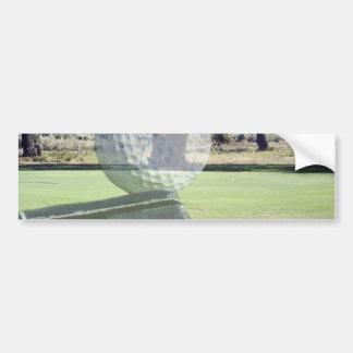 Golf_Addiction,(ball and club)_ Bumper Sticker