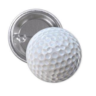 Golf Ball 1 Inch Round Button
