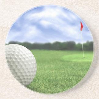 Golf Ball 4 Coaster