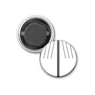 Golf Ball Alignment Marker 1 Inch Round Magnet