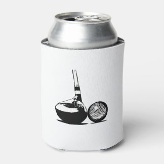 Golf Ball and Club Can Cooler