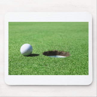 Golf Ball and Hole Mouse Pad