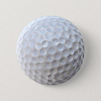Golf Ball Badge Pin Button