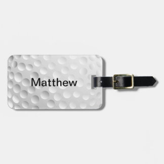 Golf Ball Bag Tag