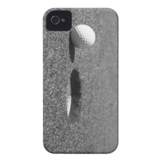 Golf Ball beside hole Case-Mate iPhone 4 Cases