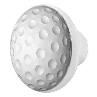 Golf Ball Ceramic Knob
