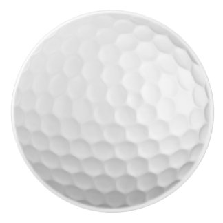 Golf Ball Ceramic Knob