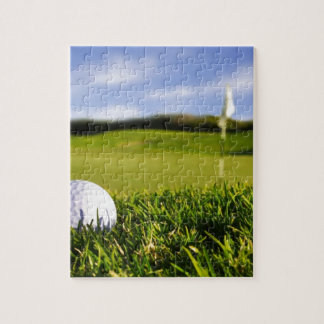 Golf Ball Course Jigsaw Puzzle
