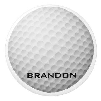 Golf Ball Design Ceramic Pull or Knob
