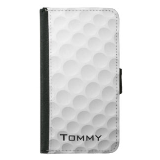 Golf Ball Design Wallet Case