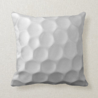 Golf Ball Dimples Texture Pattern Throw Pillow