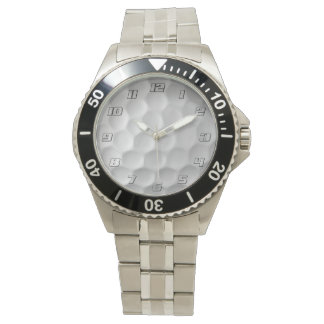 Golf Ball Dimples Texture Pattern Watch