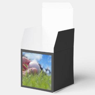 Golf ball favor box